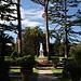 Unterwegs in den Vatikanischen Gärten (Giardini Vaticani) - Hier in der Nähe des Johannesturms (etwa nördlich davon).