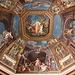 """In den Vatikanischen Museen (Musei Vaticani) - Blick zu einem schönen Fresko an der Decke des Musensaales (Museo Pio-Clementino/Sala delle Muse). Dabei müsste es sich um """"Apollo und die Musen"""" (Apollo e le Muse) von Tommaso Conca handeln."""
