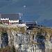 das Berggasthaus Ebenalp