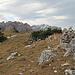 das wird wohl der Alp Sigel Nordgipfel sein, weit ist es nicht mehr bis zum Gipfel Alp Sigel, - ganz hinten am linken Bildrand