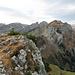 der Alp Sigel Hauptgipfel, ab jetzt wird es immer interessanter und anspruchsvoller