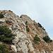Rückblick beim Abstieg über den Grat vom Gipfel Alp Sigel, im obersten Teil muss eine kleine Kletterstelle überwunden werden. (T4) (KS l)