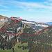 """ein Teil meiner Tour vom Alp Sigel Gipfel bis zum Bogartenfirst, natürlich über den eher """"zahmen"""" Jägersteig, eine Herausforderung habe ich auf dem Jägersteig nicht gefunden, T3+ bis höchstens T4. Dieses Foto habe ich auf der Tour zur Stauberenkanzel am 19. Oktober gemacht."""