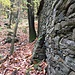 Muro rinforzato all'Ape Sciuco