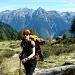 Ich und hinter mir das Val Mesolcina