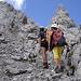 viel Karwendelbruch und Gehgelände, wie man es halt von Karwendel her kennt