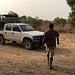 Unser Safari-Guide und Jeep für zwei Tage