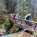 Il ponte saponato al ritorno, una vera avventura!