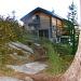 Blick zurück zur Hütte, auf dem Weg nach unten via Alp de Calvaresc