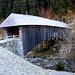 Holzbrücke bei Rueun