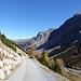 Einfacher Alpenstrasse.