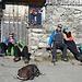 Sonnen an der Alp Hinterwinden