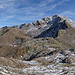 Ab Punkt 2738 am Pischagrat hat man ein Überblick über die bevor liegende Route.