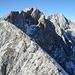 der leichte Grat zur Walderkampspitze