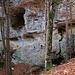 Die Bärenhöhle in der Limmerenschlucht wo ein Schädel und Zähne ausgestorbener Höhlenbären gefunden wurden. Aus Zeitmangel und meiner zur Zeit ausheilenden Schulter verzichtete ich auf eine Höhlenbesuch - dies wird aber noch nachgeholt!