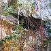 Die gut versteckte Storchenhöhle auf der Ostseite der Limmerenschlucht. Auch sie werde ich nochmals genauer besuchen wenn ich mehr Zeit für eine Wanderung haben werde.