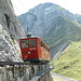 Zahnradbahn vor dem Matthorn