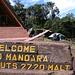 kurze Zeit später bei der Mandarahütte wieder schönes Wetter.