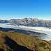 Heute ist ein super Traumtag in den Bergen, der Alpstein vom Margelchopf aus fotografiert