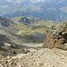 Ab Fuorla da Flix, Übersicht über die Aufstiegroute.