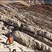 Abstieg vom Grauchopf hinunter auf den Wanderweg  Foto von R. Schlumpf
