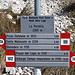 """La Portella - Unser Gipfelziel ist bereits ausgeschildert: """"Pizzo Cefalone""""."""