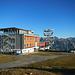 Die neue Gipfelhütte am Krahberg: Die E5 Fernwanderer freut's!