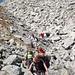 zermürbender Steinetanz auf dem Pass