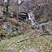 L'inizio del sentiero che da Bironico sale a Troggiano.