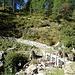 Auf dem kürzlich erneuerten Alpweg Cimalmotto - Magnello
