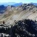 Die letzten Meter zum Pizzo Quadro Im Hintergrund die übrigens praktisch gleich hohe Corona di Groppo (Bild vom Abstieg)