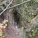 PD František, Teilverbruch, Höhe etwa 30 m