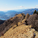 Am schönen Westgrat des Monte Boglia.