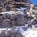 Kletterstelle I, Abstieg vom Gipfel der Grignetta