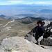 Fast auf dem Gipfel. In der Ferne die 5-Tausender Ixta und Popo