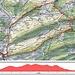 Karte und Höhenprofil meiner Baselbieter Rundwanderung über fünf Gipfel. Die Belchenflue und den Ankenballen hatte ich früher schon etliche Mal besucht. Von einer Tour habe ich auch schon einen HIKR-Bericht hochgeladen.