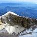 Blick vom Gipfel in den Krater