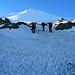 Gipfeltag. Wir sind der Dunkelheit entflohen und befinden uns am Übergang vom Labyrinth zum Gletscher