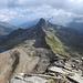 Blick vom Fanellhorn auf das Guraletschhorn