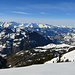 auf die andere Seite in Richtung Churer-Berge, Pizol, etc.