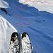 meine Abfahrt von den Wissmeilen zur Alp Fursch