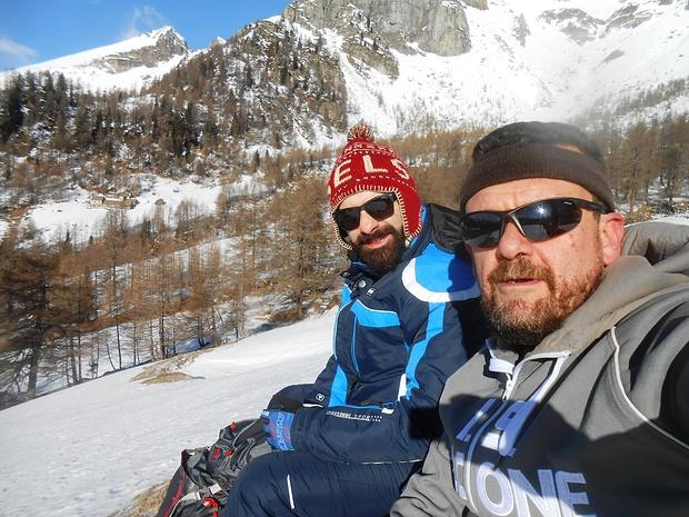 Barbaselfie all'alpe Coaté