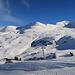 der südliche Teil vom Skigebiet auf den Fideriser Heubergen
