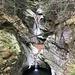 Trockene Wasserfälle mit Seeli
