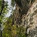 Steiler und spektakulärer Überhang, der Haken ist fragwürdig - die Griffe groß