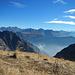 Ausblick ins Verwall, am Horizont die Silvretta mit Piz Buin.