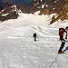 Auf dem Easton Glacier