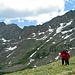 Vor den Sawteeth - der Grat der von Bierstadt zum Mt. Evans führt