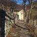 Il sentiero che da Scudellate porterà a Erbonne passando per la Cappella San Antonio 925 mt situata in posizione panoramica.