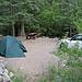 North Crestone Campground. Der Campground ist auch Trailhead